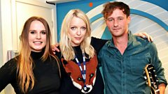 Coves chat to Lauren Laverne