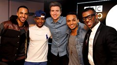 JLS chat to Greg