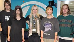 Diiv join Lauren Laverne in the studio
