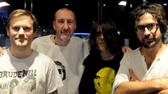 Beak join Marc Riley in the studio