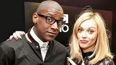 Labrinth catches up with Fearne Cotton
