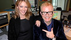 Kylie Minogue joins Chris Evans for Breakfast