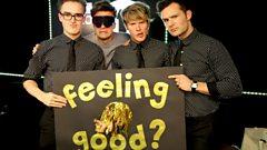 McFly play Feeling Good #R1GoodFeeling