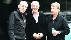 Status Quo's Francis Rossi and Rick Parfitt chat to Johnnie Walker