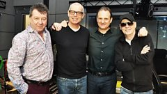 The Pet Shop Boys join Radcliffe and Maconie.