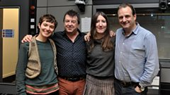 Stealing Sheep chat to Radcliffe and Maconie