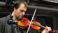 Bellowhead join Mark Radcliffe in the studio