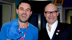 Harry Hill joins Shaun Keaveny in the studio