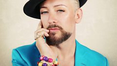 Boy George chats to Steve Wright
