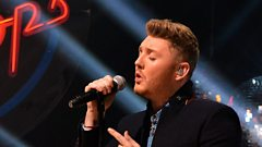 James Arthur chats with Adele