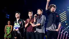 Union J, Best British Breakthrough Award winner