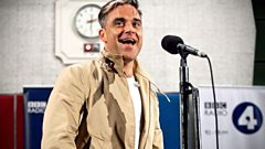 Robbie Williams performs Swings Both Ways