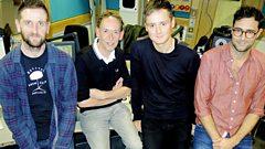 Keane catch up with Steve Lamacq