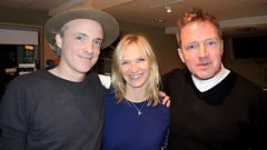 Travis catch up with Jo Whiley