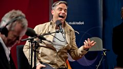 Robbie Williams: 'I'm a cabaret artist'