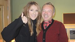 Celine Dion talks to Graham Norton