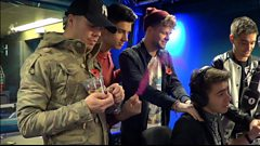 The Wanted plays Word Of Mouth with Matt Edmondson