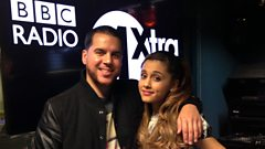 Ariana Grande chats to CJ Beatz