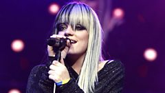 Lily Allen talks about songwriting and fame