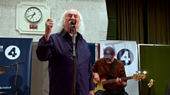 David Crosby performs new song Radio for Mastertapes