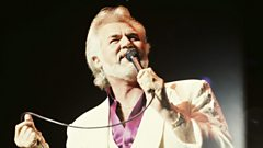 Kenny Rogers is inducted into Michael Ball's Singers Hall of Fame