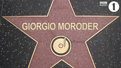 Giorgio Moroder enters the Hall Of Fame