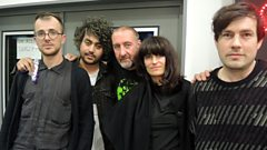 Blouse chat to Marc Riley