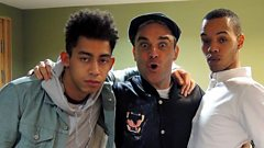 Rizzle Kicks in session