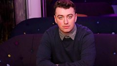 Sam Smith chats to Zane Lowe