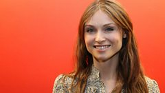 Sophie Ellis-Bextor performs live in the studio