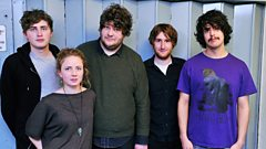Oliver Wilde live in session for Huw Stephens