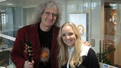 Brian May and Kerry Ellis chat to Steve Wright