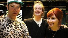 MØ joins Phil and Alice in the studio