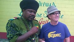 David Rodigan catches up with Luciano in Jamaica