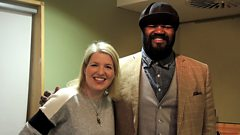Gregory Porter joins Clare Teal in the studio