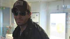 Enrique Iglesias chats to Steve Wright