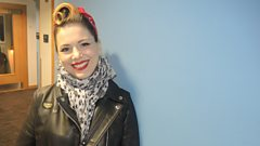 Imelda May chats with Graham Norton