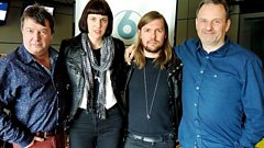 Band of Skulls join Radcliffe and Maconie in the studio