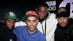 #GimmeGrime - Foostie & Chronik freestyle on 1Xtra
