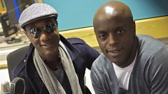 Full interview: Aloe Blacc drops by the studio to co-host Trevor Nelson's show