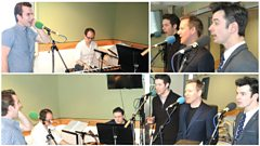 Jersey Boys Cast Live in Session