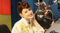 Kiesza sings one of her first songs