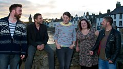 King Creosote and Kid Canaveral REM Cover - Vic Galloway session