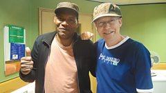 Robert Cray joins Simon Mayo in the studio