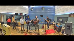 Tinariwen in session for World on 3