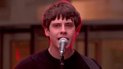 Live Jake Bugg performance