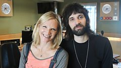 Serge of Kasabian joins Jo Whiley in the studio