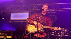 George Ezra's surprise set on the BBC Introducing stage