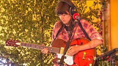 Courtney Barnett - Avant Gardener at the BBC Music Tepee