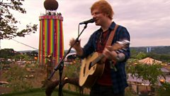 Ed Sheeran - Thinking Out Loud - Glastonbury 2014